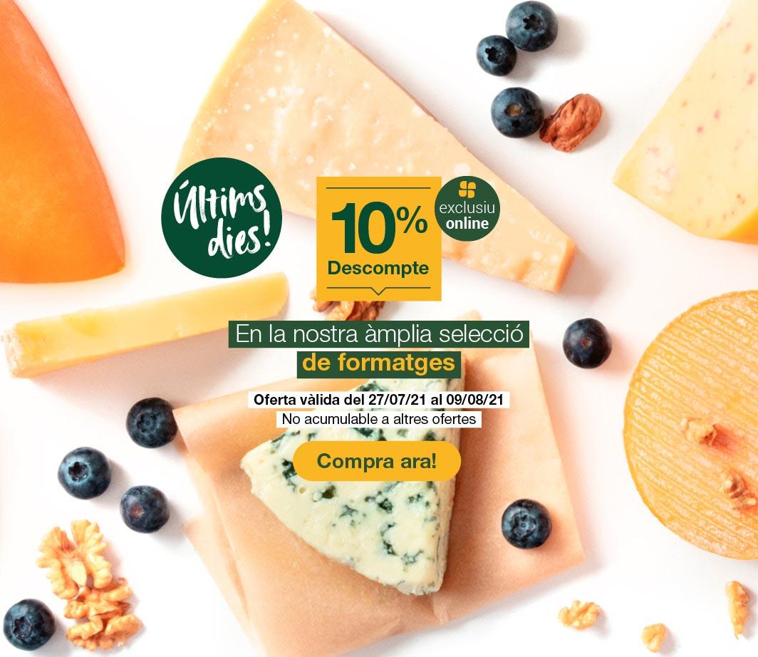 Clica aquí per veure el 10% en formatges. 3
