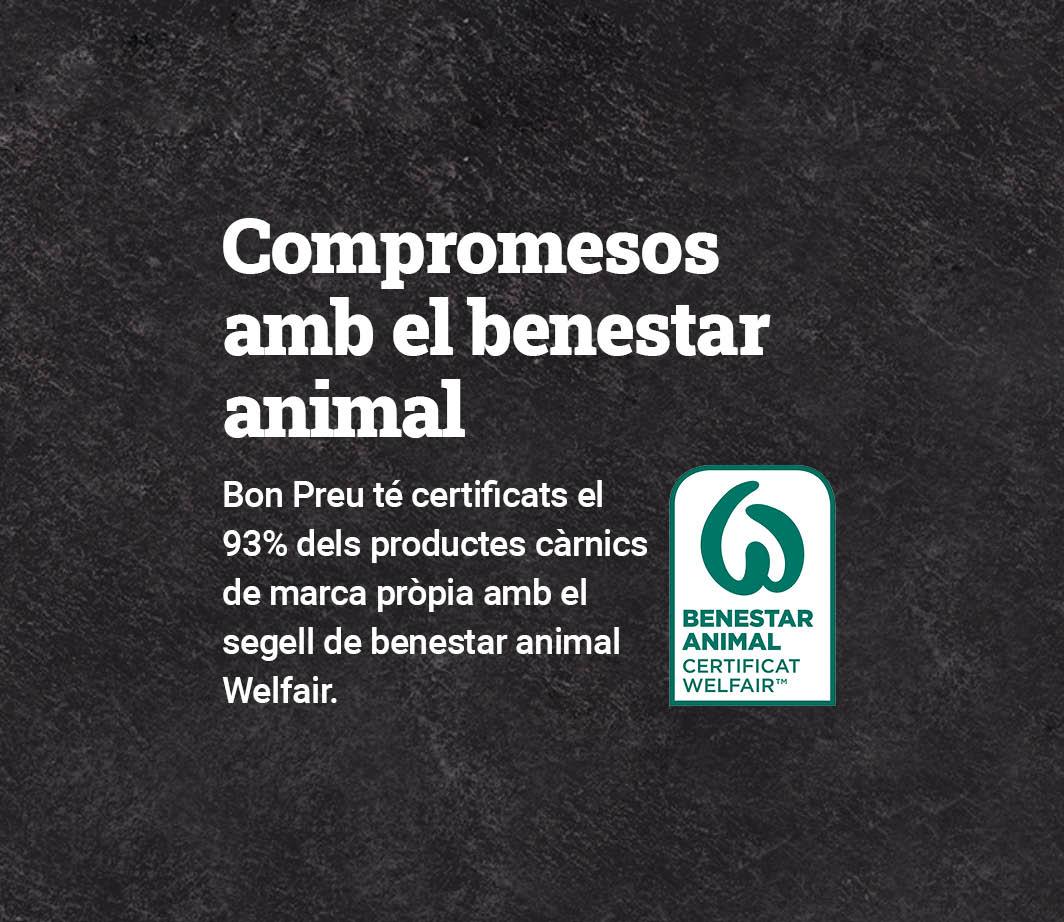 CLICA AQUÍ PER VEURE LA NORMATIVA DE BENESTAR ANIMAL Pàgina d'opcions de lliurament