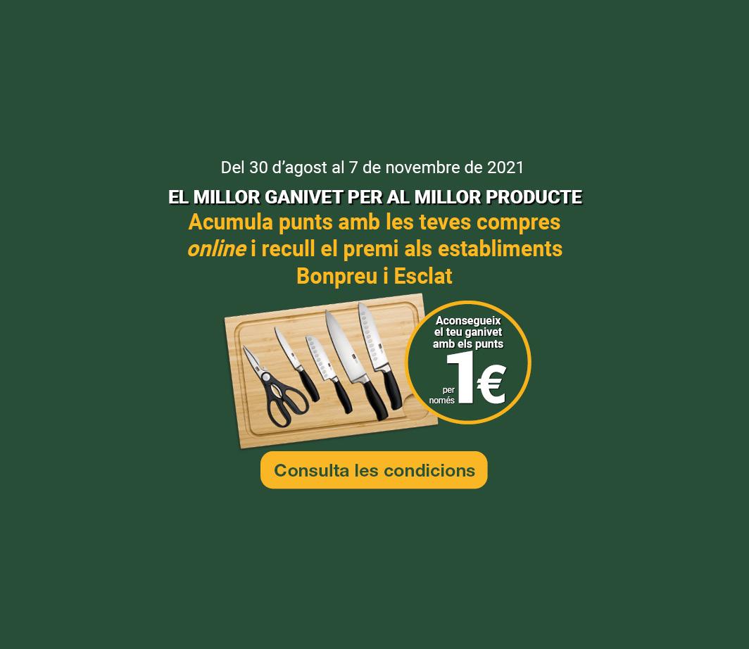 Clica aquí per veure la promoció dels ganivets. -3-