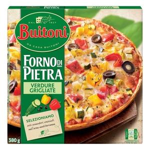 FORNO DI PIETRA Pizza de verdures a la brasa