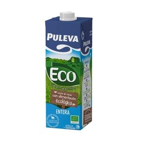 PULEVA Llet ecològica sencera
