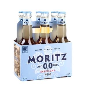 MORITZ Pack cervesa sense alcohol 6x33 cl