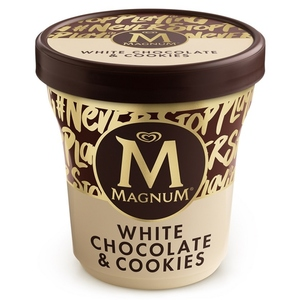 MAGNUM Gelat Magnum white amb galeta