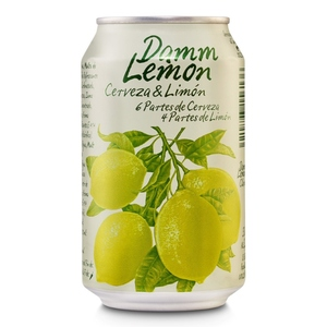DAMM LEMON Cervesa amb llimona