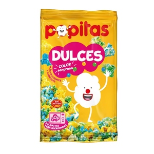 POPITAS Crispetes dolces per a microones