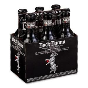 DAMM NEGRE BOCK Pack cervesa negra 6x25 cl