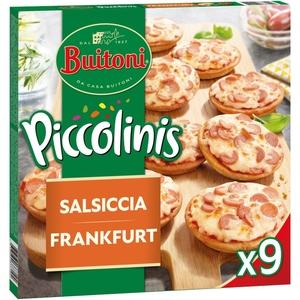PICCOLINIS Mini pizzes de frankfurt