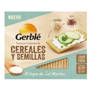 GERBLÉ Torrades de quinoa i teff