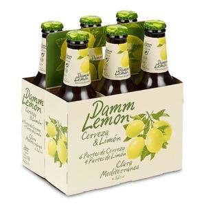 DAMM LEMON Pack cervesa amb llimona 6x25 cl