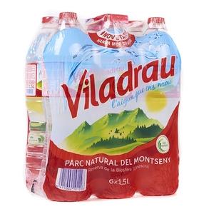 VILADRAU Aigua mineral natural 6x2L