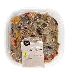 TERRA I TAST Verdures amb quinoa