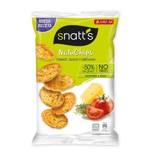SNATT'S Natuchips tomàquet, formatge, orenga