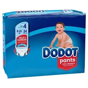 DODOT PANTS Bolquers calceta T4 (9-15 kg)
