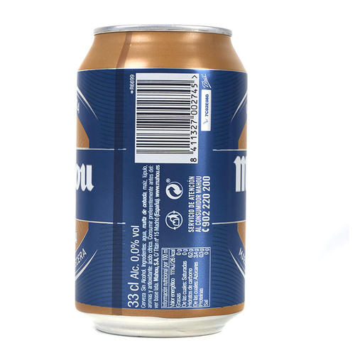 MAHOU Cervesa torrada 0,0