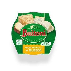 BUITONI Salsa 4 formatges fresca