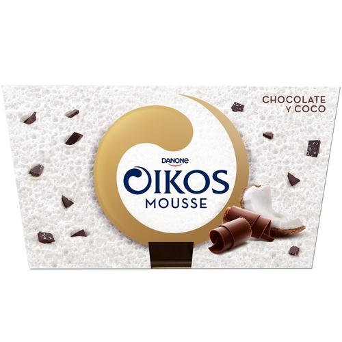 OIKOS Mousse de xocolata i coco