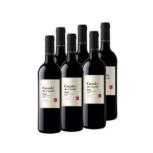 CONDE DE CARALT Caixa de vi negre DO Catalunya