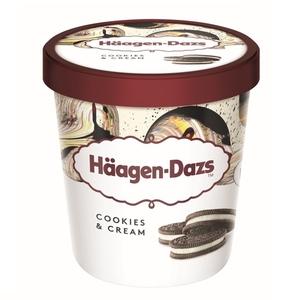 HAAGEN-DAZS Gelat Cookies & Cream