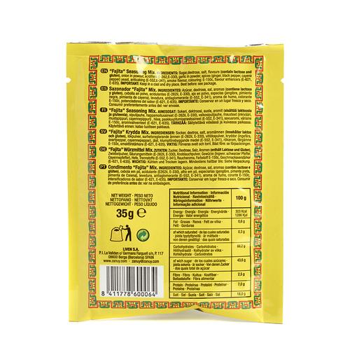 ZANUY Condiment per fajita