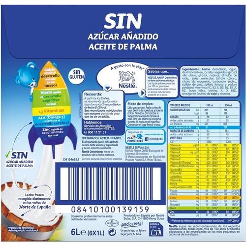 NESTLE JUNIOR 2 Pack llet Junior 2 6x1L