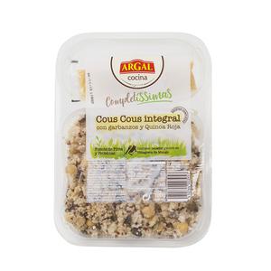 ARGAL Cous cous amb cigrons i quinoa