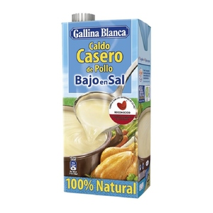 GALLINA BLANCA Brou casolà de pollastre baix en sal
