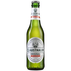 CLAUSTHALER Cervesa premium sense alcohol