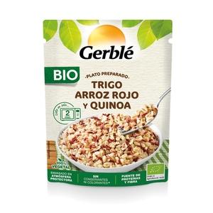 GERBLÉ Blat, arròs vermell i quinoa ecològic
