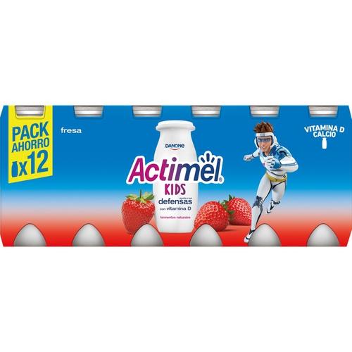 ACTIMEL Iogurt de maduixa per beure