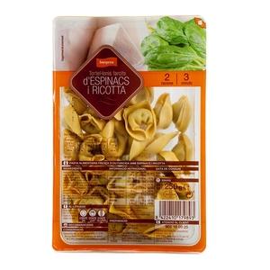 BONPREU Tortel·lonis farcits d'espinacs-formatge