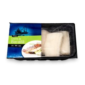 BONPREU Lloms de bacallà al punt de sal