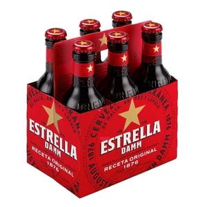 ESTRELLA DAMM Pack cervesa 6x25 cl