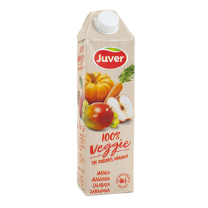 JUVER Suc de mango, poma, carabassa i pastanga