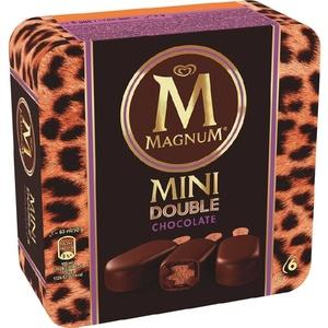 MAGNUM Gelat mini doble de xocolata