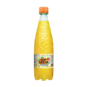 VICHY CATALAN Aigua amb gas amb suc de taronja 50cl