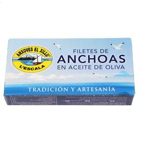 EL XILLU Filets d'anxoves en oli d'oliva