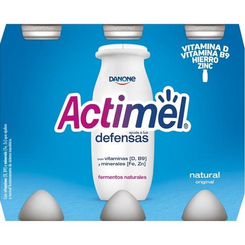 ACTIMEL Iogurt per beure natural
