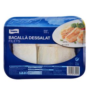 BONPREU Filets de bacallà dessalats