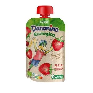 DANONE Fruita de butxaca eco sabor maduixa