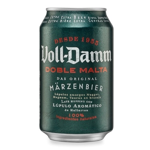 VOLL DAMM Cervesa doble malta
