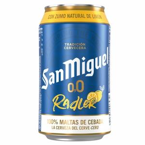 SAN MIGUEL Cervesa sense alcohol amb llimona
