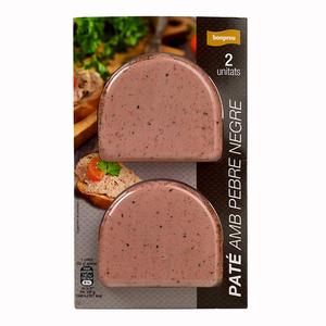 BONPREU Paté pebre negre
