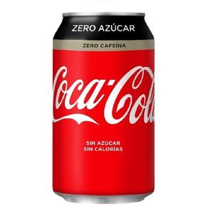 COCA-COLA Refresc de cola Zero sense cafeïna