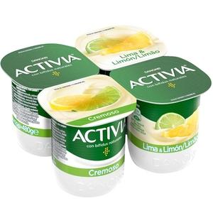 ACTIVIA Iogurt cremós llima-llimona