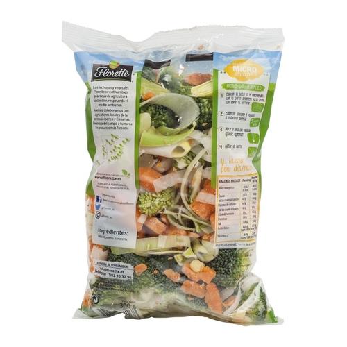 FLORETTE Verdures per micro bossa 300 g.