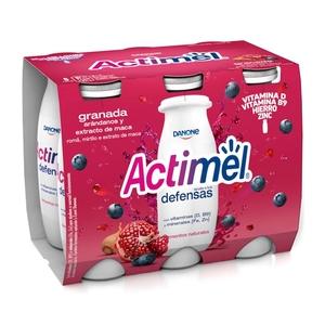 ACTIMEL Iogurt per beure de magrana i nabius