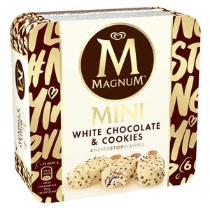 MAGNUM Gelat mini xocolata blanca amb cookies