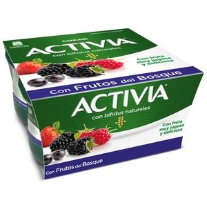 ACTIVIA Iogurt amb fruites del bosc