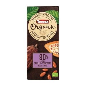 TORRAS ORGANIC Xocolata negra 90% ecològica