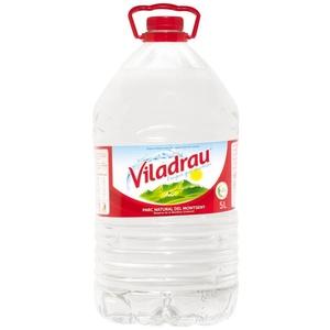 VILADRAU Aigua mineral natural 5L